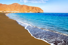 Gran Tarajal beach Fuerteventura Canary Islands royalty free stock photos