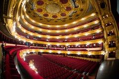 Gran Teatre del Liceu. The Gran Teatre del Liceu opera house on La Rambla in Barcelona, Catalonia, Spain stock images