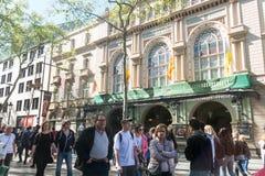 Gran Teatre del Liceu, Ramblas, Barcelona, Spanje Royalty-vrije Stock Foto