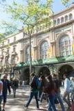 Gran Teatre del Liceu, Ramblas, Barcelona, Spanje Stock Foto