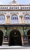 Gran Teatre del Liceu, wordt gevestigd op Ramblas van Barcelona royalty-vrije stock foto's