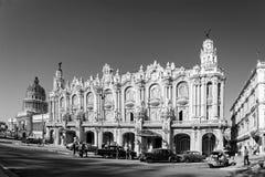 Gran Teatro de la Habana, Cuba royalty free stock photos