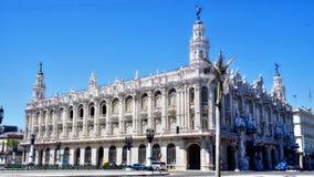 Gran Teatro De Los angeles Habana, Hawański, Kuba Obrazy Royalty Free