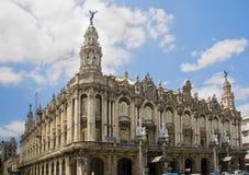 Gran Teatro do La Havana, Cuba. fotografia de stock royalty free