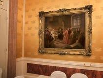Gran Teatro La Fenice Arkivbild