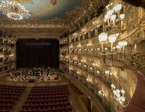 Gran Teatro La Fenice Arkivbilder