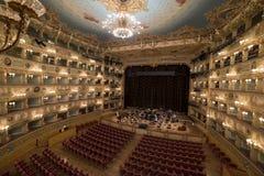 Gran Teatro La Fenice Arkivfoton
