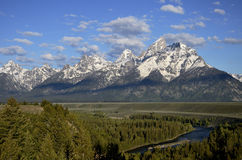 Gran Teton Wyoming Foto de Stock