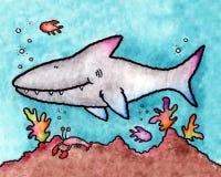 Gran tiburón blanco Fotos de archivo