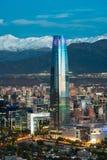Gran Torre Santiago Fotografie Stock Libere da Diritti