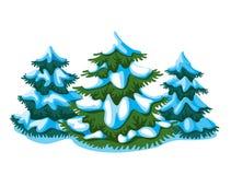 Gran-träd Arkivfoton