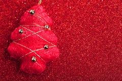 Gran-tree på abstrakt bakgrund Royaltyfri Fotografi