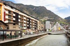 Gran Valira at Andorra la Vella Royalty Free Stock Image