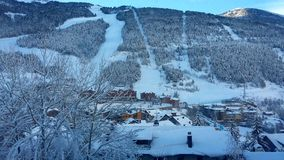 Gran Valira, Andorra zdjęcie stock