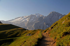 Gran Vernel and Marmolada Royalty Free Stock Images