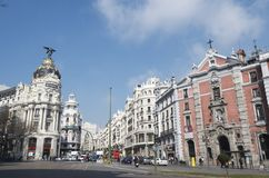Gran Via Stock Photography