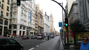 gran via Royaltyfria Foton