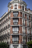 Gran via, Image of the city of Madrid, its characteristic archit Stock Photos