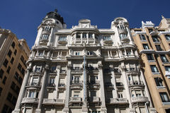 Gran Via, Madrid Royalty Free Stock Images