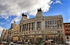 Gran Via, Madrid Stock Photos