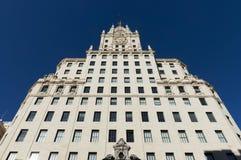 Gran Via, Madrid Royalty Free Stock Image