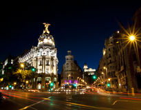 Free Gran Via Street In Madrid, Spain Stock Photography - 20985312