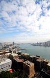 Gran vista de Hong-Kong Imagen de archivo