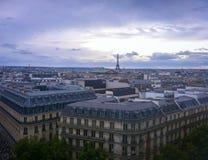 Gran vista de París Imagen de archivo
