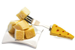 Grana cheese appetizer Stock Photo
