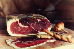 A grana fine meatsKitchen la decorazione, prodotti naturali Fotografia Stock