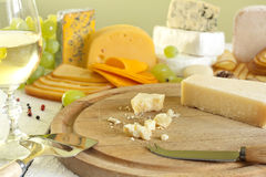 Grana padano cheese Royalty Free Stock Image