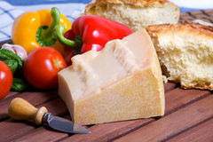 Grana stagionated cheese Royalty Free Stock Image