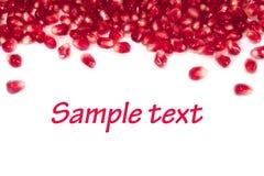 Granaatappel stock foto's