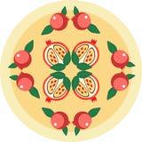 Granaatappel royalty-vrije illustratie