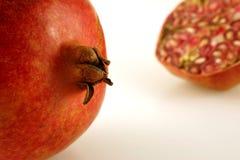Granaatappel dichtbij ver Royalty-vrije Stock Fotografie
