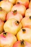Granaatappel in markt Stock Foto