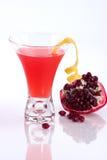 Granaatappel martini - de Meeste populaire cocktails serie Stock Foto's