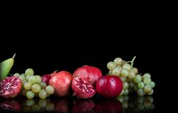 granaatappels Royalty-vrije Stock Foto's