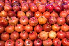 Granaatappels in voedselopslag Royalty-vrije Stock Afbeelding