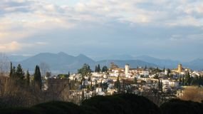 granada Foto de Stock Royalty Free
