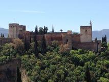 Granada Albaicin 0001 Fotografia Stock Libera da Diritti
