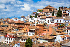 Granada - Albaicin Moorish quarter, Andalusia in Spain Royalty Free Stock Photography