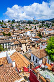 Granada - Albaicin Moorish quarter, Andalusia in Spain Royalty Free Stock Image
