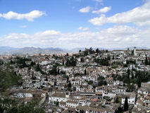Granada - the Albaycin Royalty Free Stock Photos