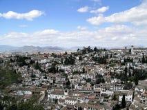 Granada - Albaycin royalty-vrije stock foto's