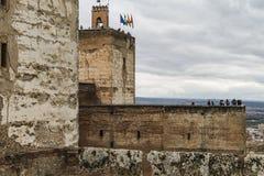 Granada alhambra Obrazy Royalty Free