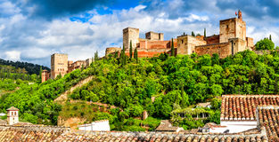 Granada - Alhambra, Andalusia, Spain Royalty Free Stock Photography