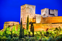 Granada - Alhambra, Andalusia, Spain Royalty Free Stock Image