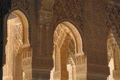 Granada alhambra Hiszpanii obrazy stock