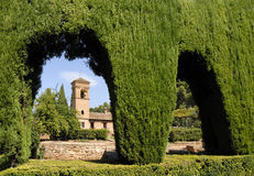 Granada alhambra Hiszpanii Fotografia Stock